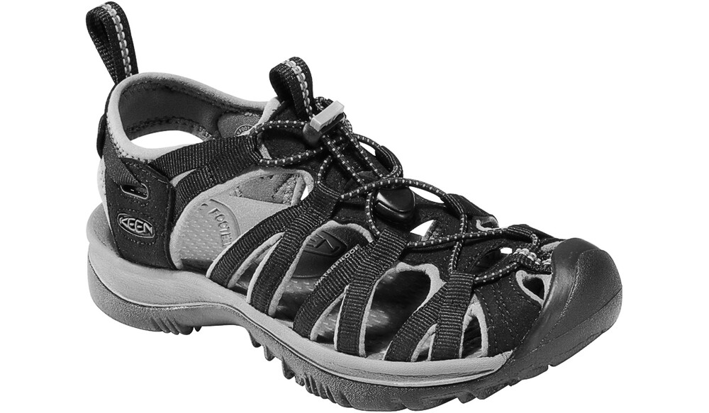 Keen Women Whisper black/gargoyle Größe US 10,5